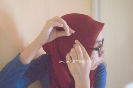 Wear A Square Hijab for Glasses in Less than 5 Minutes