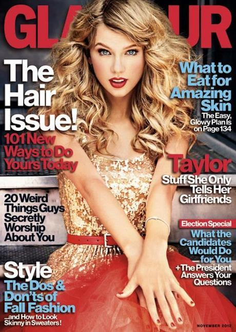 get the look: taylor swift for glamour