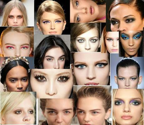 Fall 2012 Makeup Trend - All Trends Under One Roof  (Key Look, Products Used and Budget Products)
