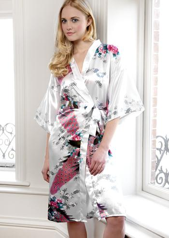 There's Nothing Quite Like a Kimono Style Dressing Gown!
