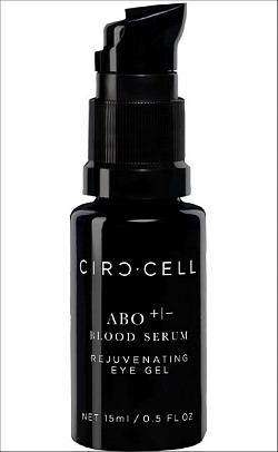 ABO +|- Blood Serum Eye Gel: Scary Name; Killer Results!