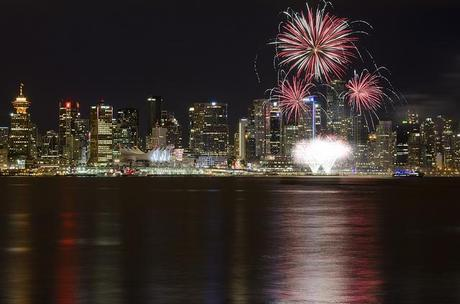 Canada Day in Vancouver by Jeremy Saunders