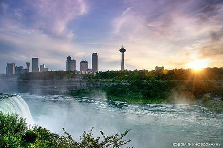 Canada from Niagra Falls by Rob Smith Photography