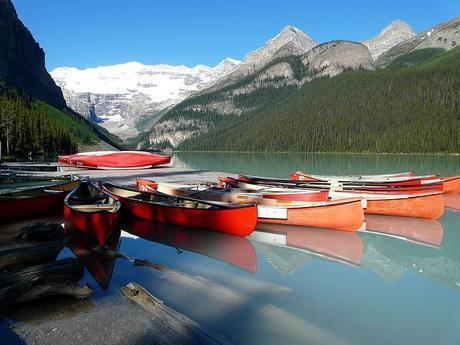 Lake Louise, Alberta Canada by Sylvia Cook