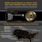 Infographic on Vehicle Theft Statistics