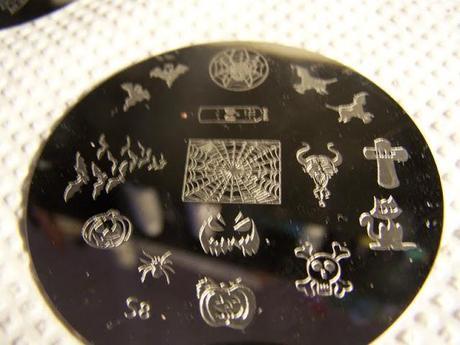 Nailways Stamping Plate Set