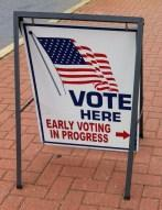 Just Returned From Early Voting…