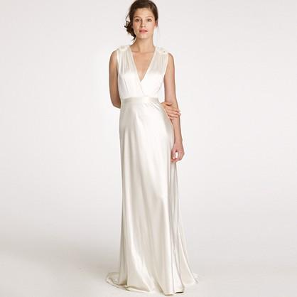 Wedding dress j crew sale
