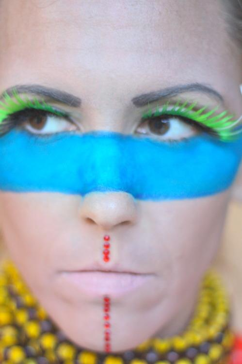 Native American Inspired Makeup: {Step by Step How To.}