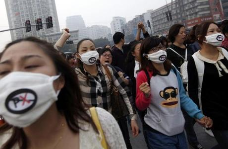 Chinese Protests Over Chemical Factory Reflect Government Mistrust