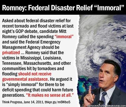 Suppose Romney was President now, during Sandy…