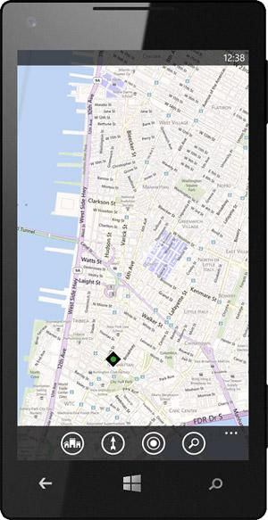 WP8 : Nokia Maps / Maps