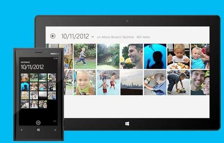 WP8 : SkyDrive - Cloud Sync