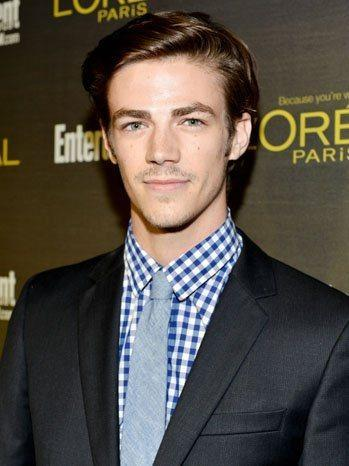 Glee's Grant Gustin is ready for college in the 90210