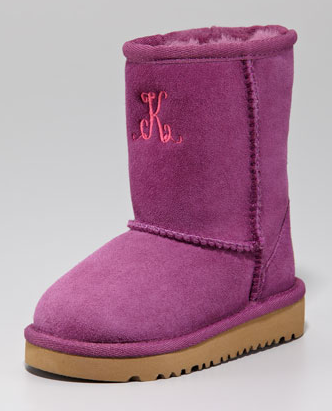 Holiday Gift Guide Monogrammed Uggs Paperblog