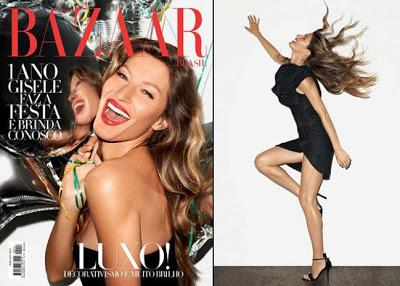 Gisele Bundchen at Harper Bazaar November Issue