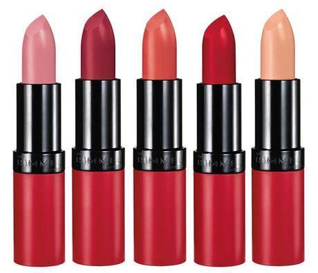 Kate Moss Matte Lipstick Rimmel London 2012