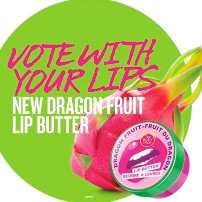 The Body Shop Foundation Dragonfruit Lip Butter