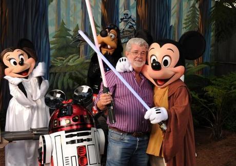 Disney bought Pixar buys Lucasarts - new Star Wars trilogy imminent