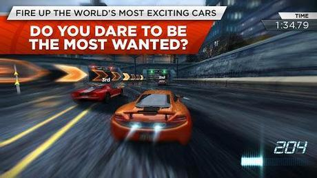 nfsmw for android and ios