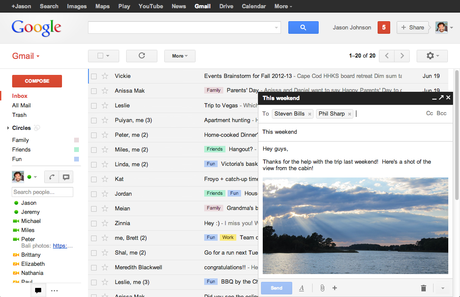 Gmail's New Method to Compose Email