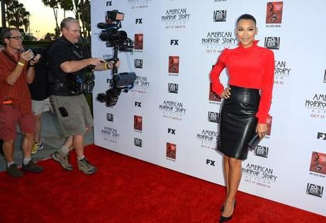 Celebrity Trend: Leather Skirts and Dresses