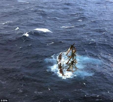 Video: Dramatic Rescue Footage From HMS Bounty