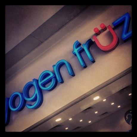 Yogen Fruz, Now in Lebanon at Le Mall Dbayeh