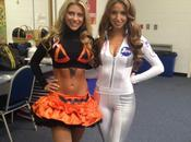 England Patriots' Cheerleaders Celebrate Halloween Early