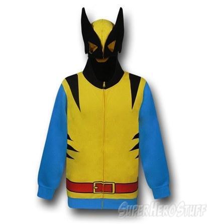 wolverine, hoodie, costume