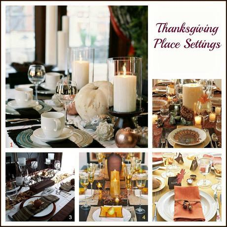 10 31 blog Thanksgiving Place Setting Decorating Ideas HomeSpirations