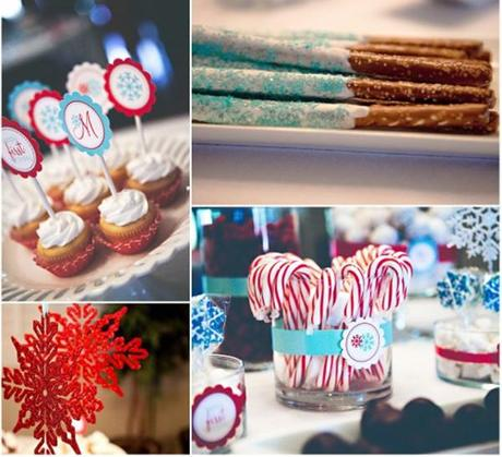 Christmas Wedding Dessert Buffet Ideas