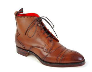 Subtle Yell:  Jeffery West Poe 3834 Brogue Balmoral Boot