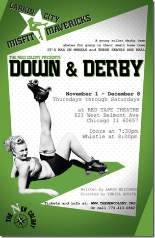Review: Down & Derby (The New Colony Theatre)