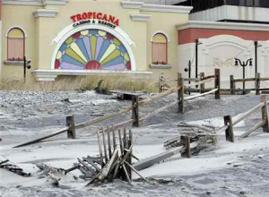 Hurricane Sandy Aftermath in Atlantic City