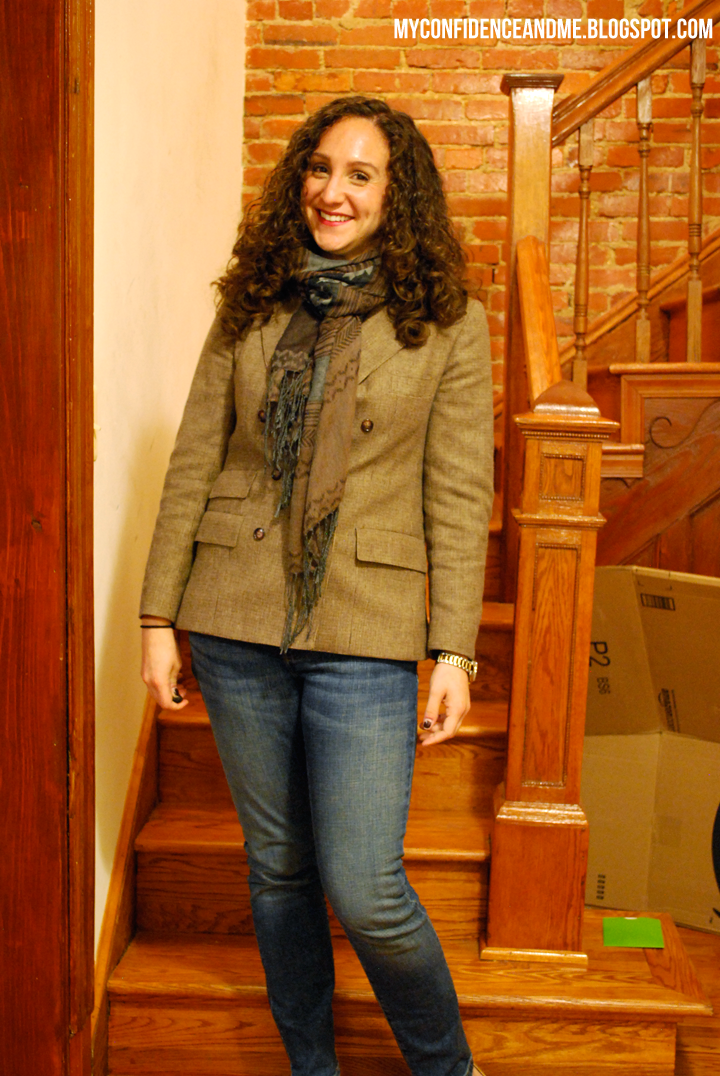 What I Wore: Jacket Season