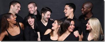 The Giordano Dance Chicago's ensemble: Devin Buchanan, Joshua Blake Carter, Autumn Eckman, Zachary Heller, Lindsey LaFountain, Lindsey Leduc, Maeghan McHale, Ashley Rockwood, Sean Rozanski, Meredith Schultz, Martin Ortiz Tapia and Katie Rafferty