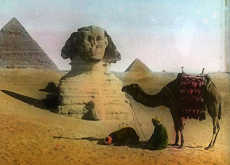 Photographs Of Early 20th-Century Egypt Brought To Life In Color