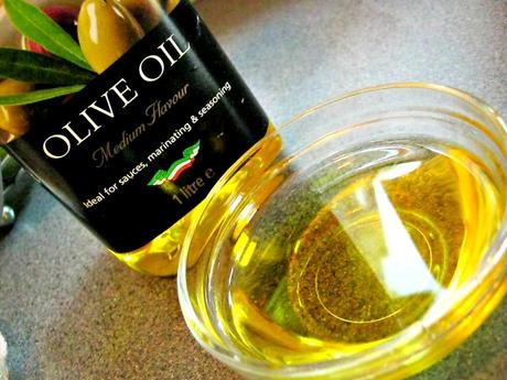 Hair Oil series - Olive Oil