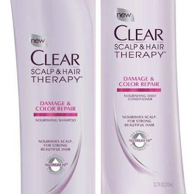 Clear Scalp & Hair Beauty TherapyTM: Damaged, Coloured Hair Shampoo & Conditioner