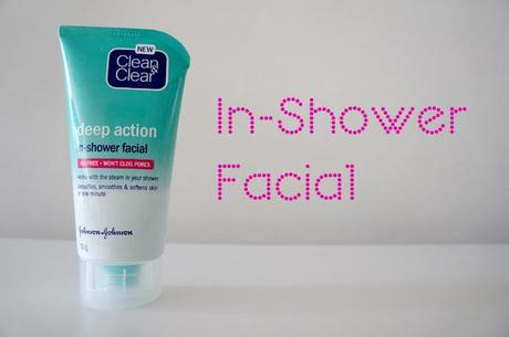 Review: Clean & Clear In-Shower Facial