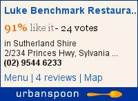 Luke Benchmark Restaurant and Oyster Bar on Urbanspoon