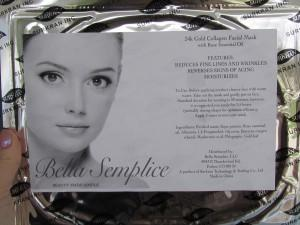 "Bella Semplice masks make you look so ""bella"""