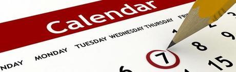 Calendar updated