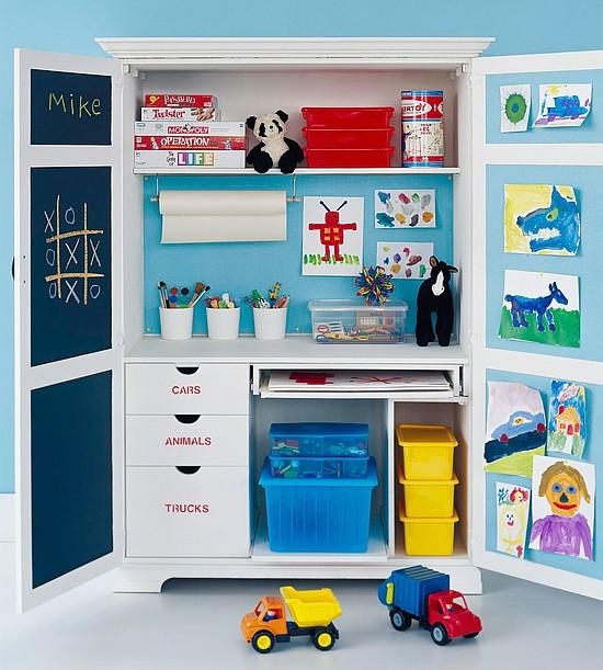 babble toy storage 5 Family Friendly Ways to Re Purpose an Armoire