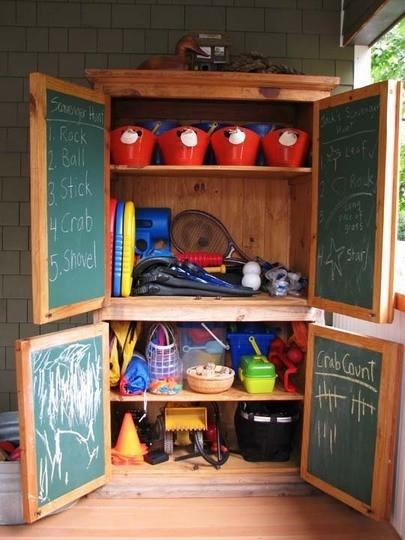 outside toys 5 Family Friendly Ways to Re Purpose an Armoire