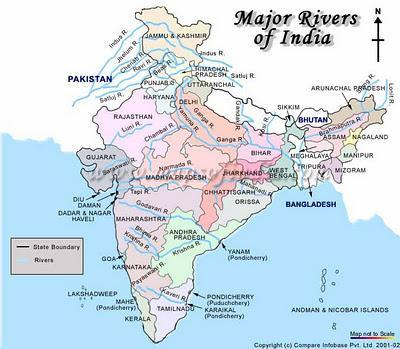 Water qualities of Indian rivers are deteriorating. Many Rivers are under threat.
