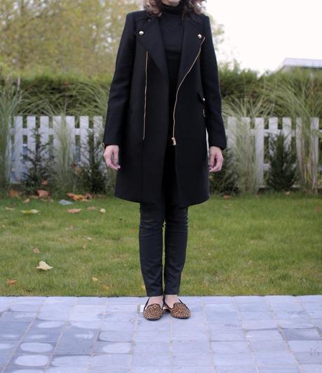 The wool biker coat