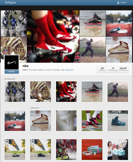 Instagram Profile Nike
