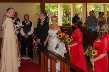 THE WEDDING CEREMONY OF DAWN AND JAY